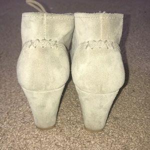 Clarks Shoes - Wedge booties